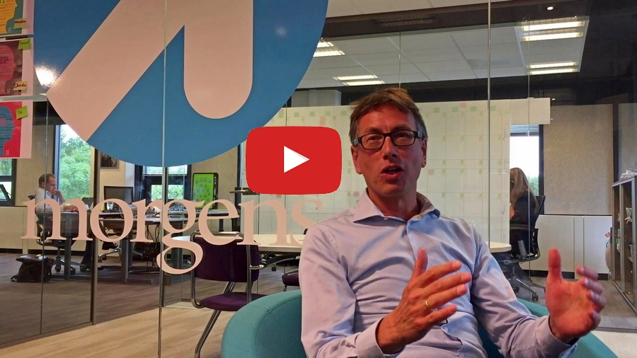 Frank van Berkel of Morgens consultancy about growth