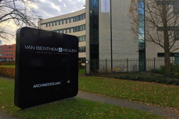 Kantoor Van Benthem & Keulen in Utrecht